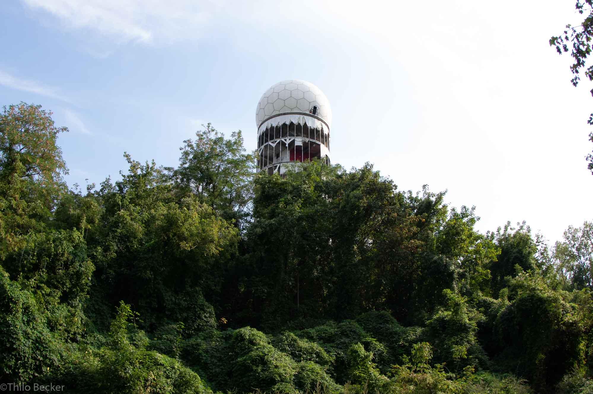 Alte Abhörstation auf dem Teufelsberg